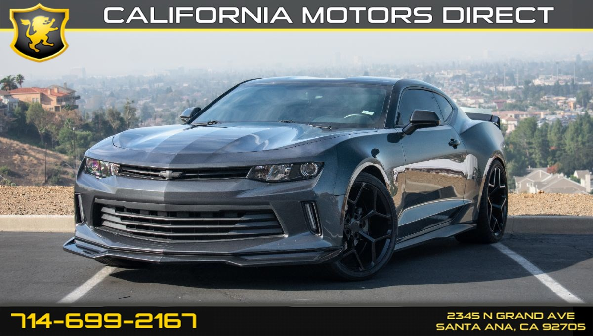 2016 Chevrolet Camaro 1LT (w/1 LT Preferred Equipment Group/Bluetooth)