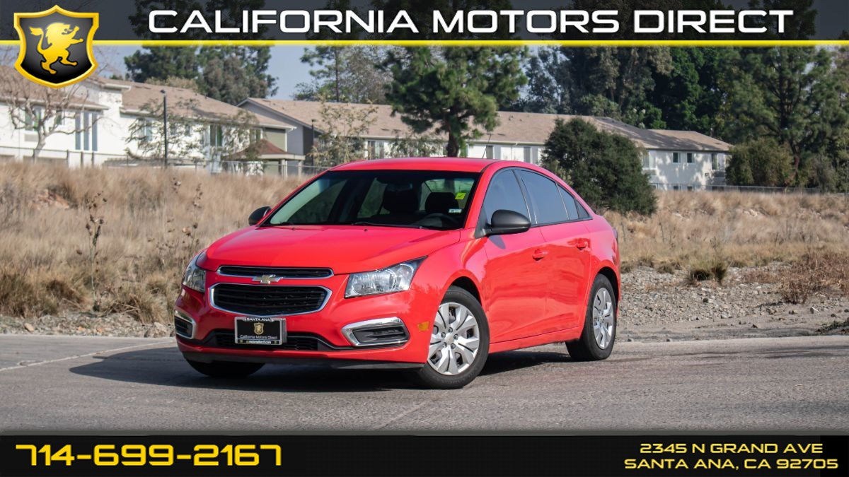 2016 Chevrolet Cruze Limited LS (W/Keyless Entry/Bluetooth)
