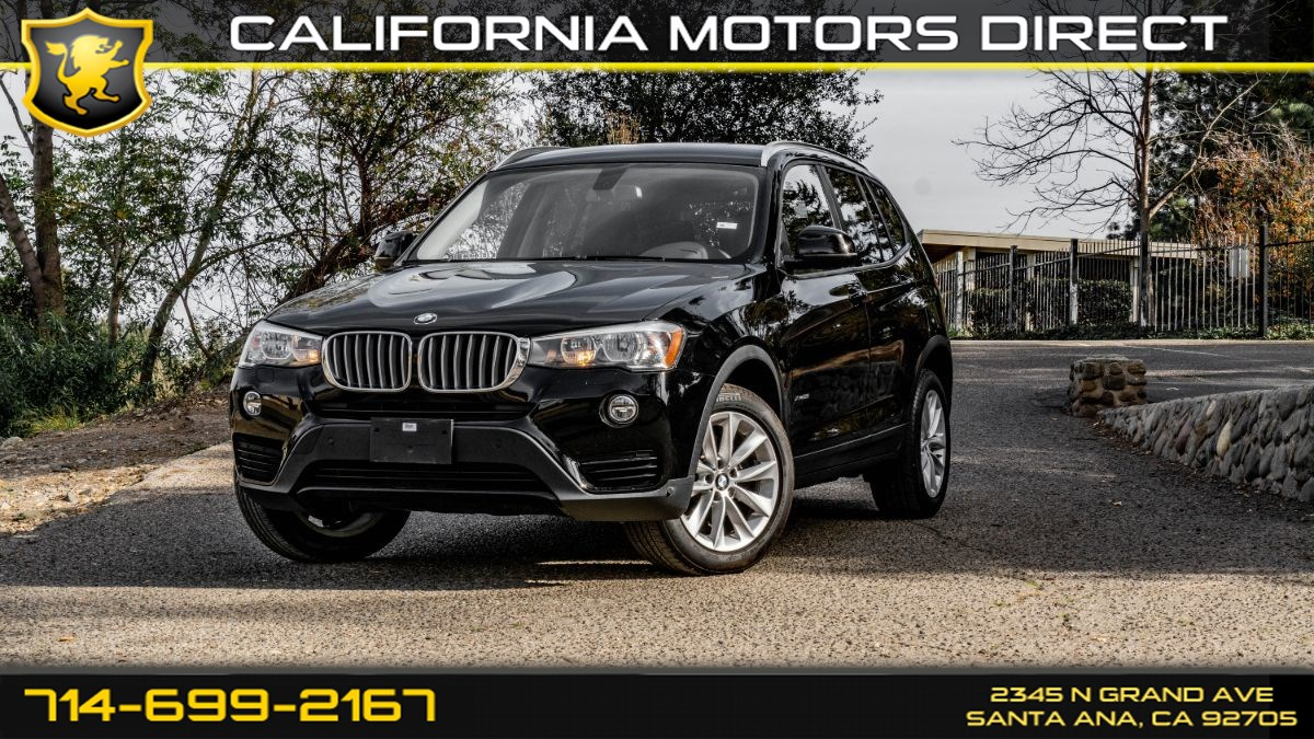 2016 BMW X3 (w/ Intercooled Turbo/ Roof Rack Rails)