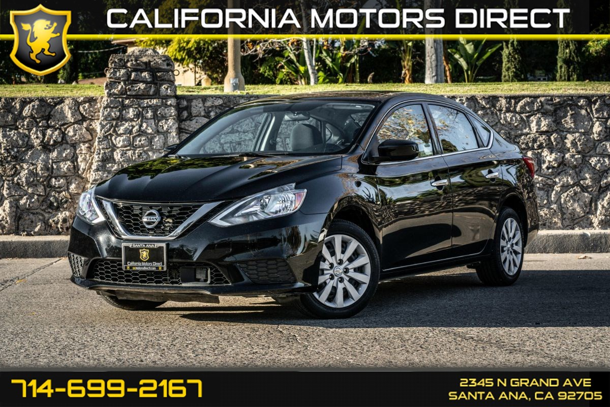 2018 Nissan Sentra S (W/Bluetooth/Back-Up Camera)