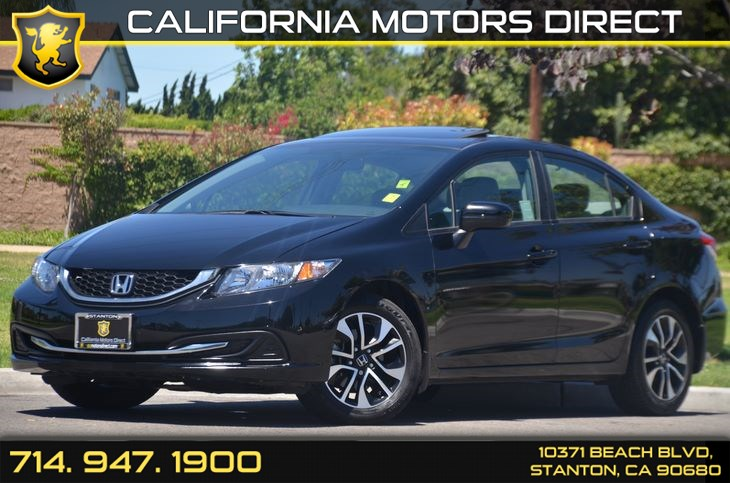 Sold 2014 Honda Civic Sedan Ex In Stanton