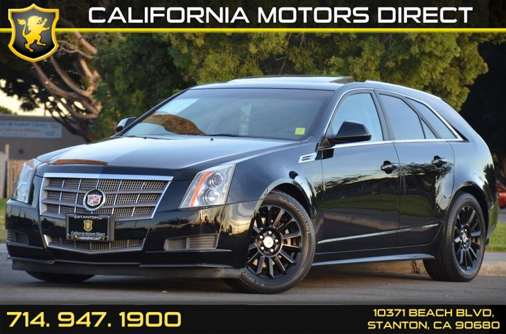 Sold 2010 Cadillac Cts Wagon 3 0l Luxury In Stanton