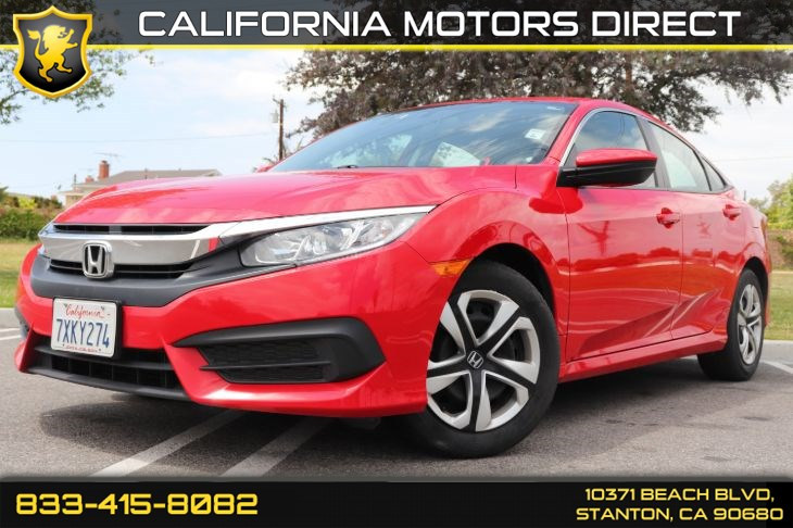 2017 Honda Civic Sedan LX W/ Backup Camera