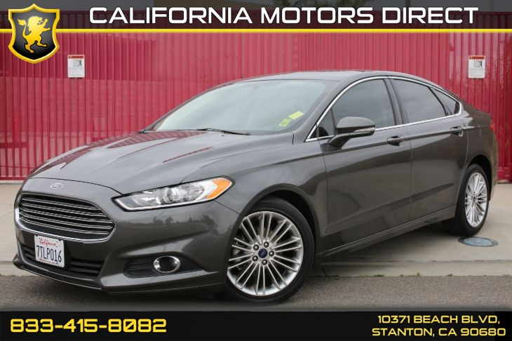 2016 Ford Fusion SE Luxury Package w/Navigation & Front Heated Seat(s)
