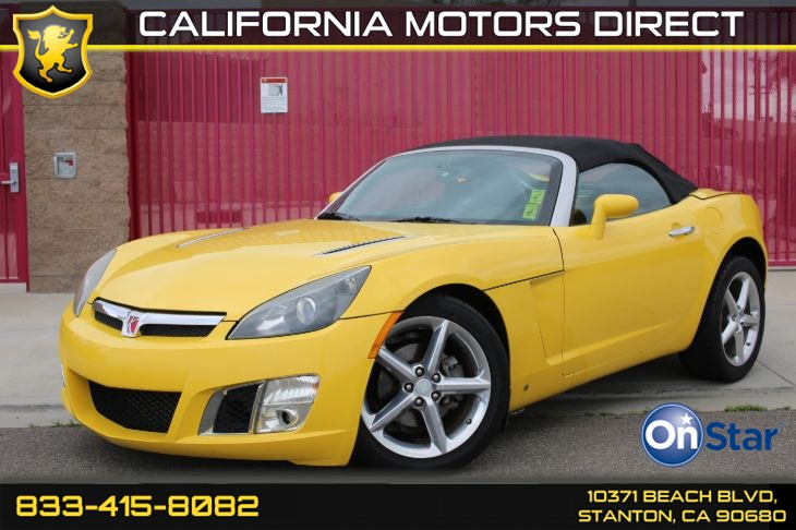 2008 Saturn Sky Red Line W/ Convertible Soft Top