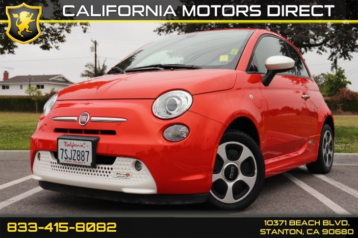 2016 FIAT 500e W/ Uconnect Access W/ Navigation & Front Heated Seat(s)