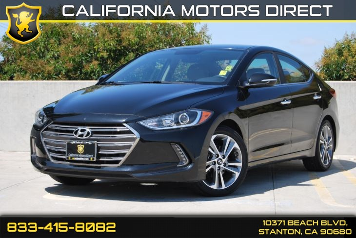 2017 Hyundai Elantra Limited (Navigation & Back Up Camera)