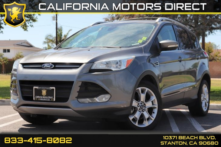 2014 Ford Escape Titanium W/ Navigation