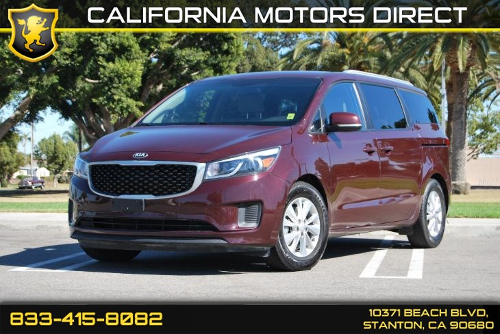 2016 Kia Sedona LX Convenience Package