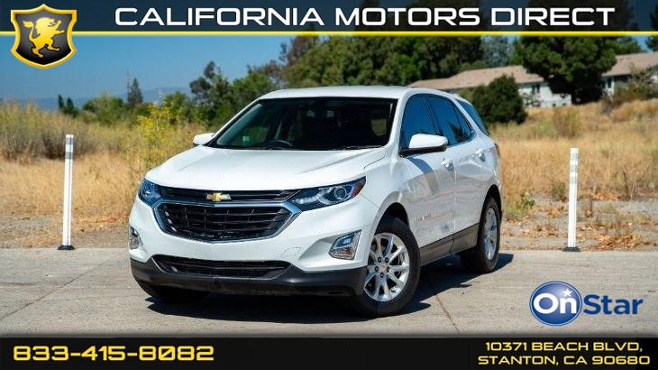 2018 Chevrolet Equinox LT Confidence & Convenience Package