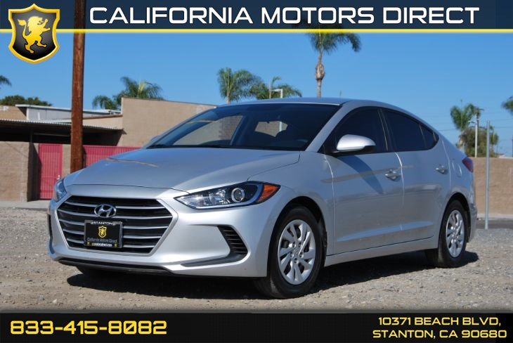 2017 Hyundai Elantra SE W/ Convenience Backup Camera