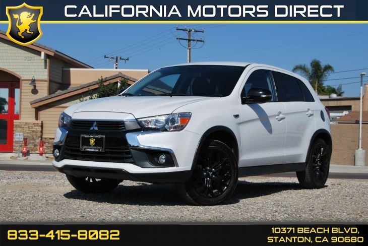 "2017 Mitsubishi Outlander Sport W/18"" Black Alloy Wheels"