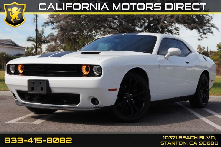2016 Dodge Challenger SXT Blacktop Package