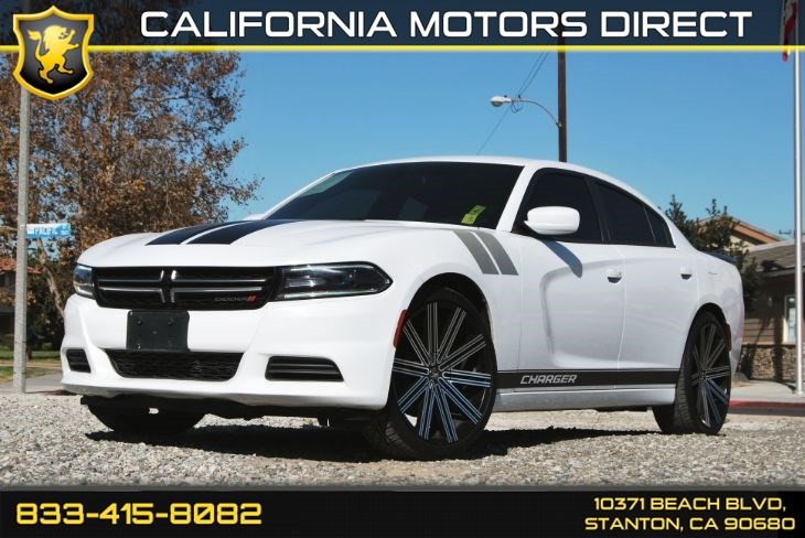 2016 Dodge Charger SE Quick Order Package