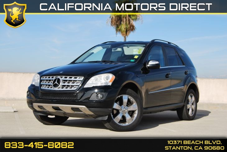 2010 Mercedes-Benz ML 350 W/ HD Navigation