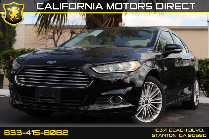 2016 Ford Fusion SE Luxury Package w/Front Heated Seat(s)