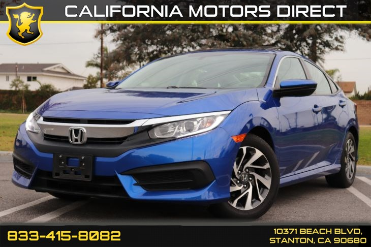 2017 Honda Civic Sedan EX W/ Backup Camera