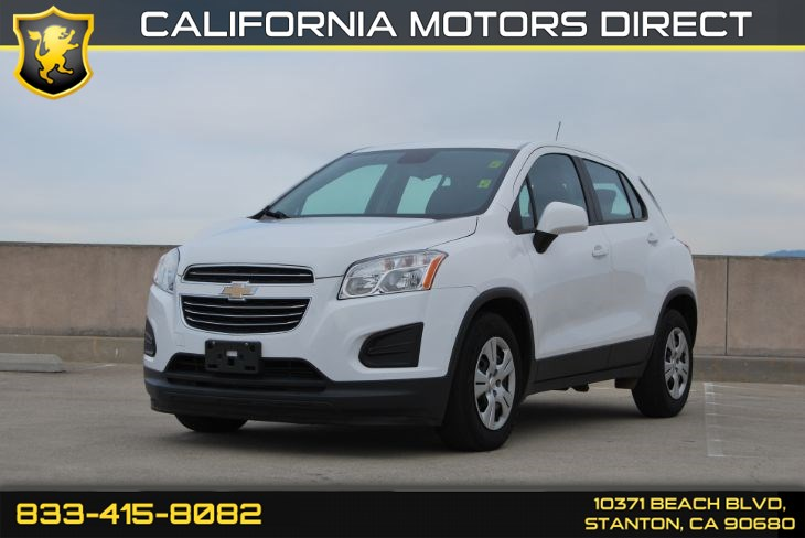 "2016 Chevrolet Trax LS Preferred Equipment Group, 16"" Steel Wheels"