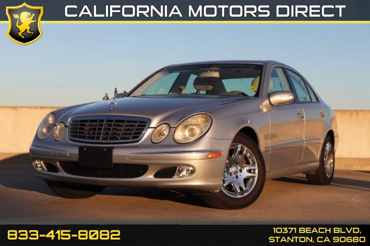 2004 Mercedes-Benz E320 W/ Navigation W / Front Heated Seat(s)