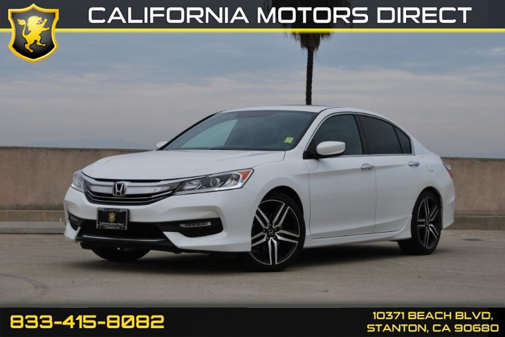 2016 Honda Accord Sedan Sport (Bluetooth & Convenience Backup Camera