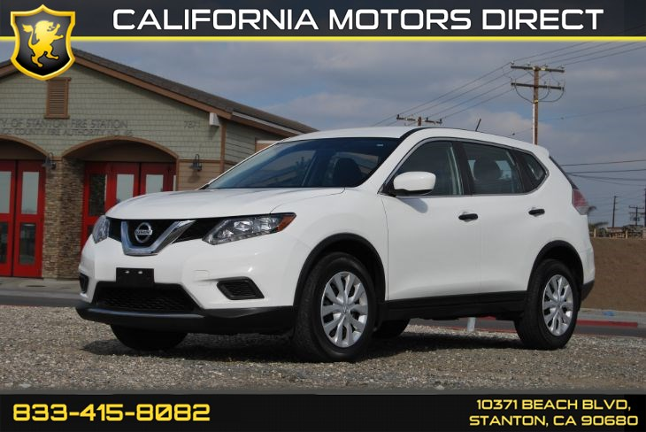 2016 Nissan Rogue S (Backup Camera & Bluethooth)