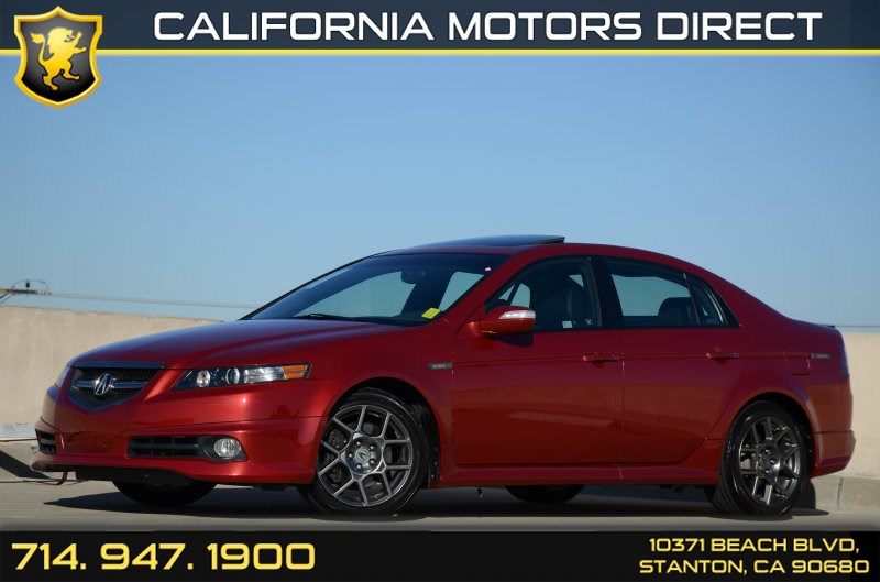 2007 Acura Tl Type S For Sale >> 2007 Acura Tl Type S California Motors Direct
