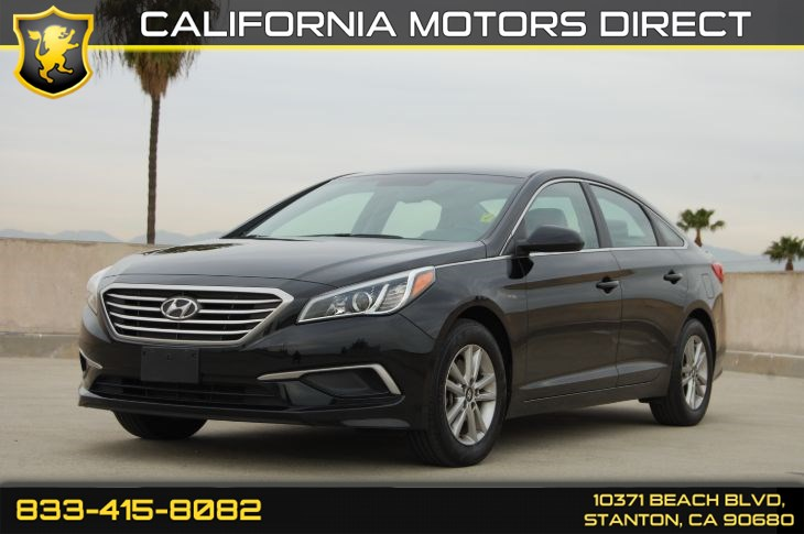 2017 Hyundai Sonata SE (Backup Camera & Bluetooth)