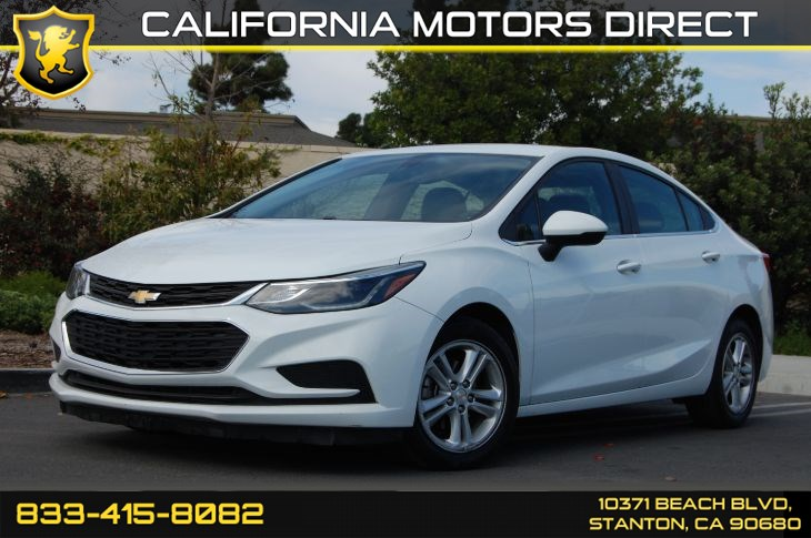 2016 Chevrolet Cruze LT (Backup Camera & Bluetooth)