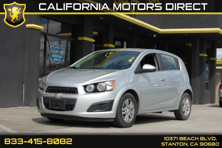 2015 Chevrolet Sonic LT (Bluetooth & Backup Camera)