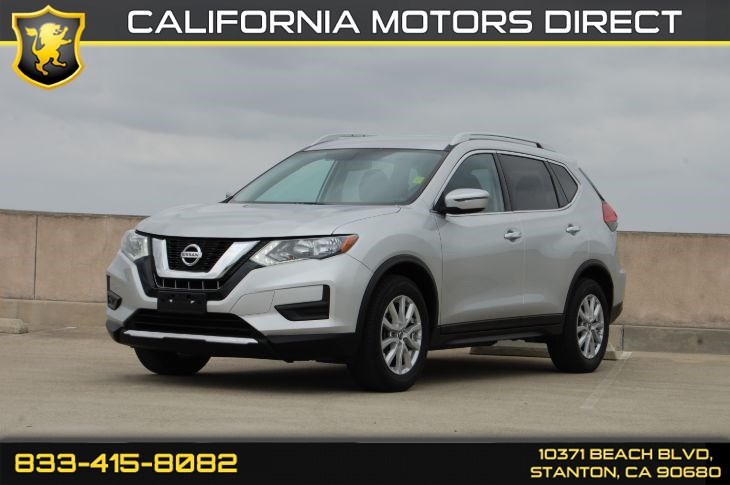 2017 Nissan Rogue SV (Convenience Backup Camer & Bluetooth Audio)