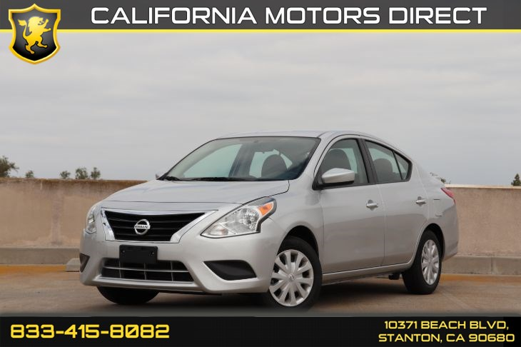 2019 Nissan Versa Sedan (Backup Camera & Bluetooth Hands Free) SV