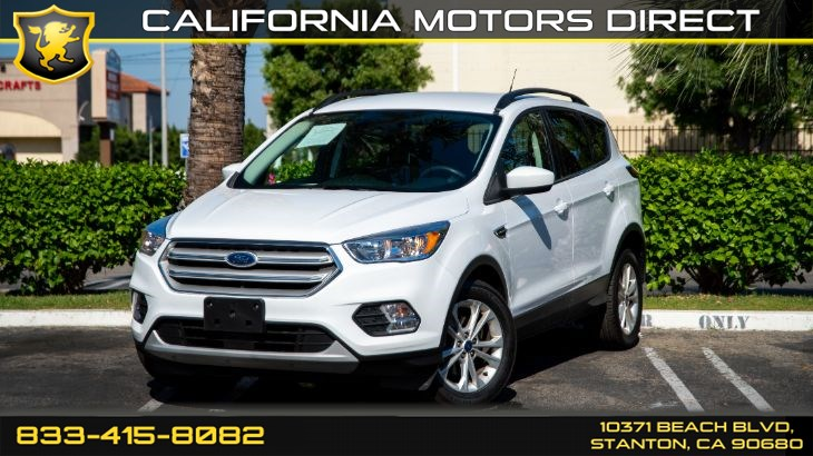 2018 Ford Escape SE (Backup Camera & Bluetooth Audio)