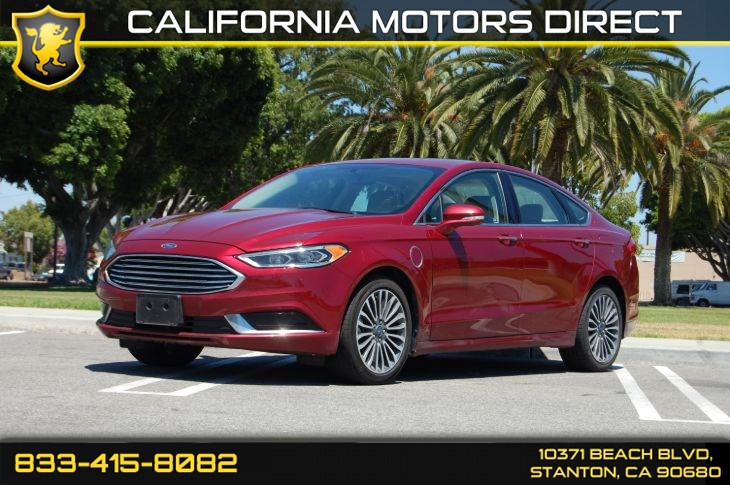 2018 Ford Fusion Energi SE (Power Moonroof & Navigation)