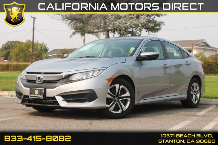 2016 Honda Civic Sedan LX(Back-up Camera & Bluetooth)