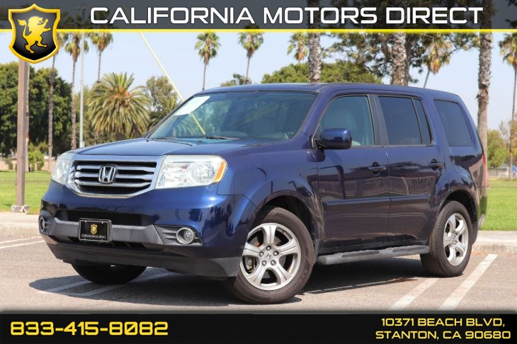 2013 Honda Pilot EX-L(Bluetooth & Back-up Camera)
