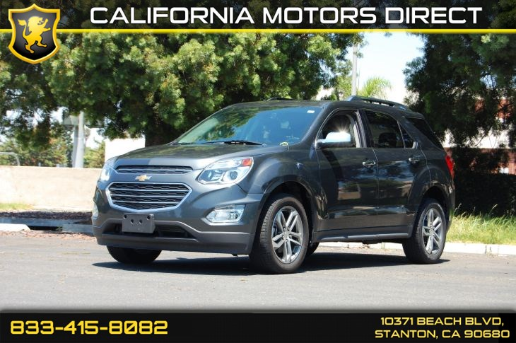 2017 Chevrolet Equinox Premier (Power Sunroof & Rear View Camera)