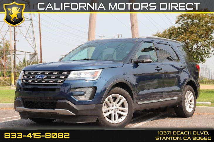 2017 Ford Explorer XLT(3rd Row Seating W/Bluetooth)