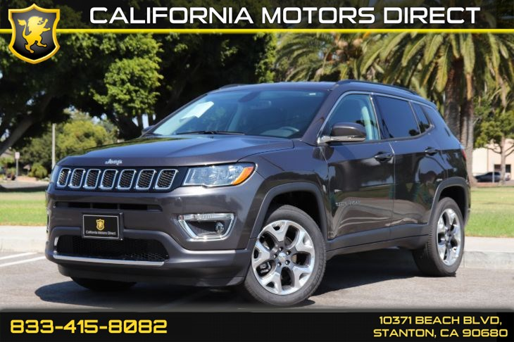 2019 Jeep Compass Limited(Bluetooth W/ Safety & Security Group)