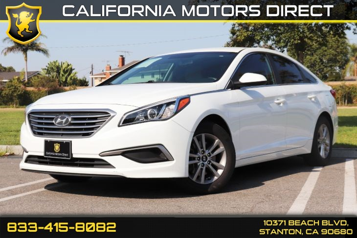 2017 Hyundai Sonata SE W/ Back-up Camera & Bluetooth