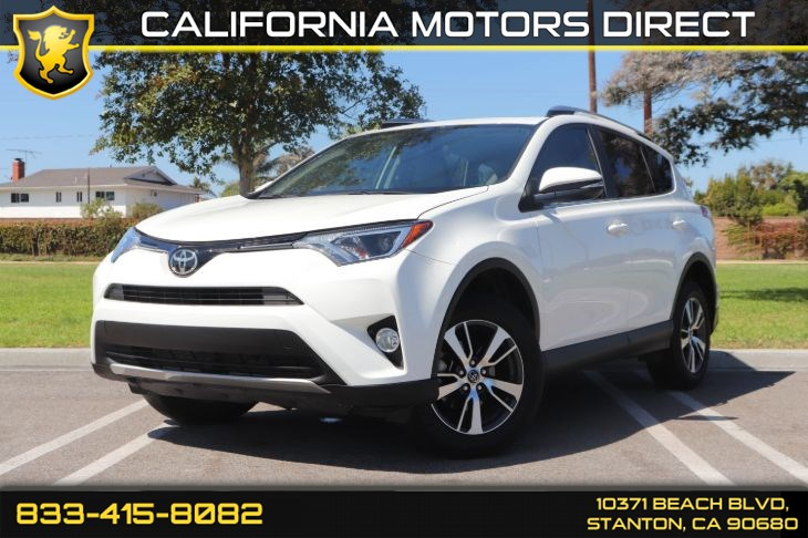 2018 Toyota RAV4 XLE (Plus Extra Value Pkg & Back-up Camera)
