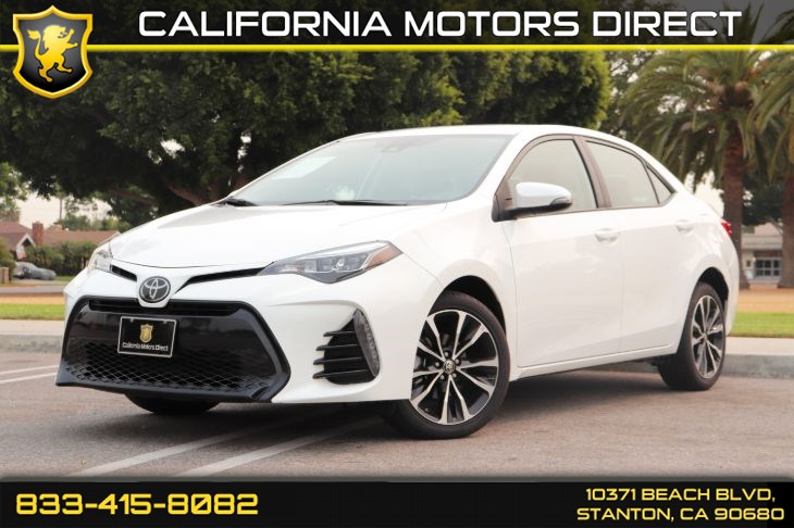 2018 Toyota Corolla SE(Protection Pkg & Back-up Camera)