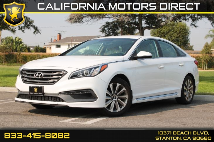 2016 Hyundai Sonata 2.4L Sport(Mud Guards  & Bluetooth)