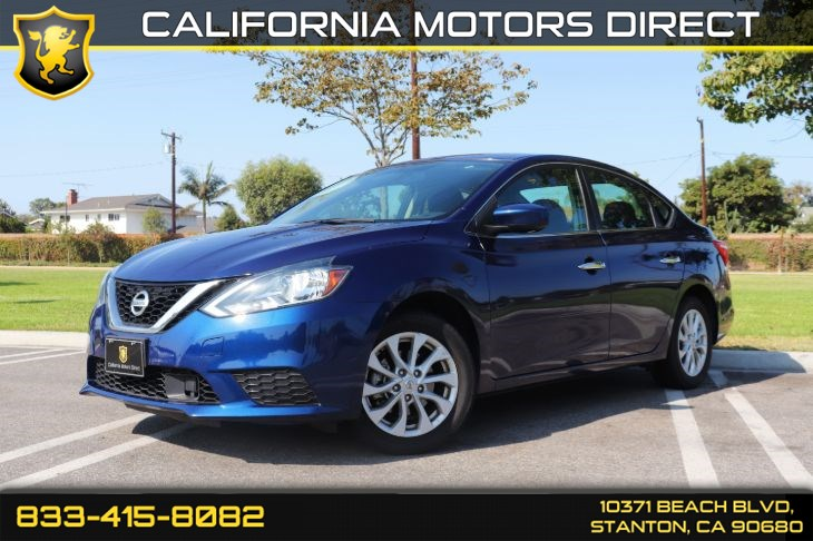 2018 Nissan Sentra SV(Bluetooth & Back-up Camera)