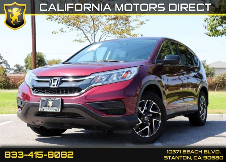 2016 Honda CR-V SE(Bluetooth & Back-up Camera)