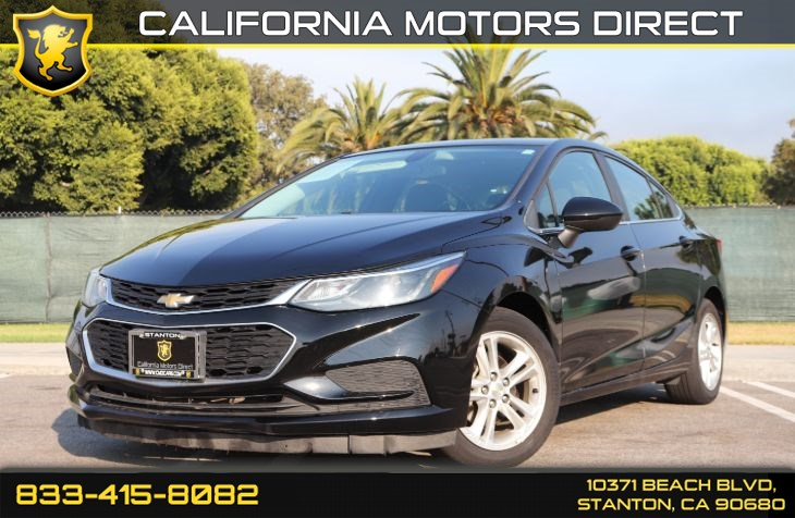 2017 Chevrolet Cruze LT(Convenience Pkg W/ Back-up Camera)