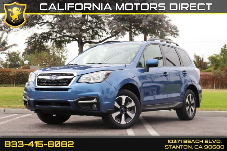 2017 Subaru Forester Premium(All Weather Pkg W/ Back-up Camera)