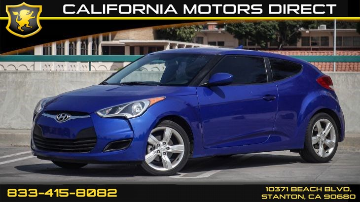 2014 Hyundai Veloster (Bluetooth & Back-up Camera)