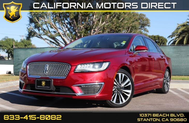 2017 Lincoln MKZ Hybrid Reserve(MKZ Tecnology Pkg W/ Back-up Camera