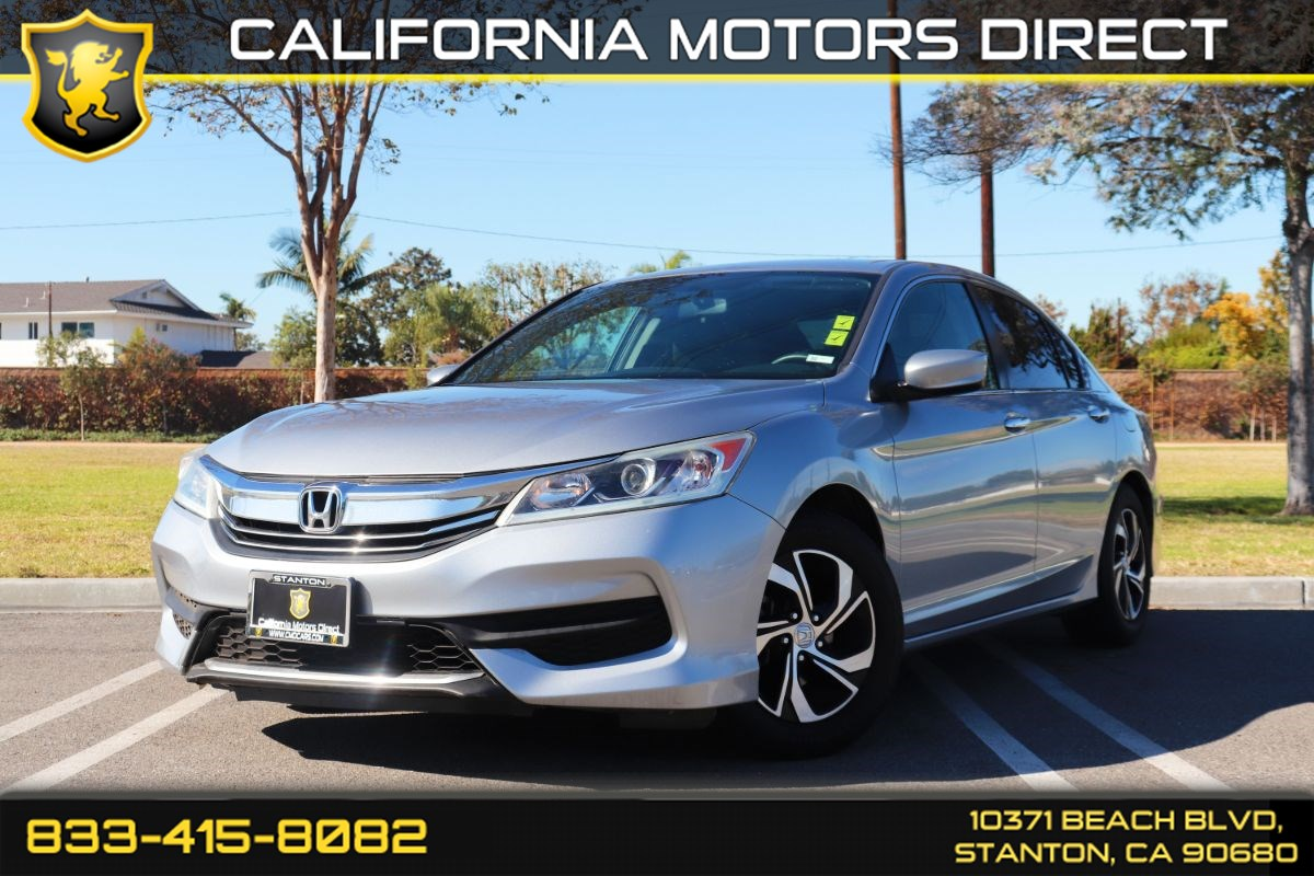 2016 Honda Accord Sedan LX(Back-up Camera & Light Tinted Glass)