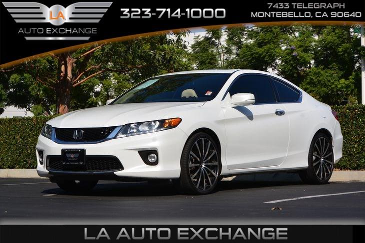 Honda Accord Coupe Ex L V6 >> 2015 Honda Accord Coupe Ex L V6 La Auto Exchange